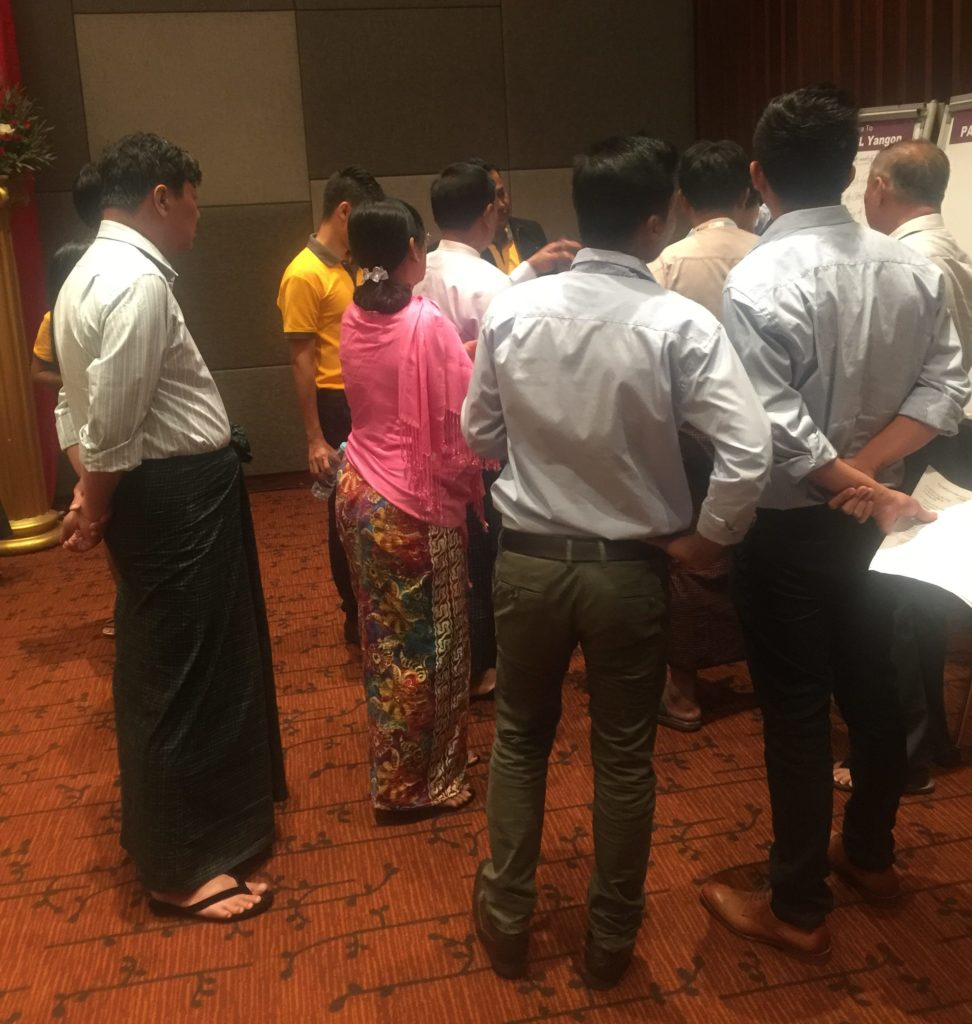 The First National Poultry Dialogue in Myanmar by SAPA Project
